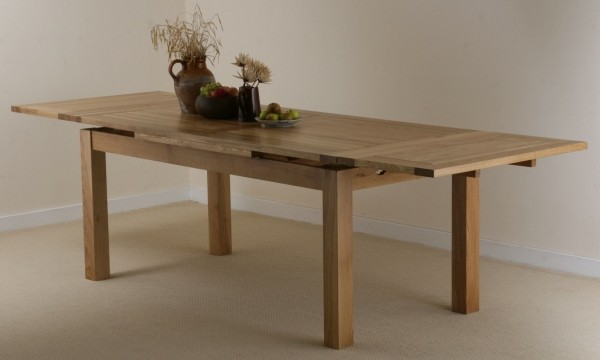 dorset natural solid oak dining set 6ft extending table with 10