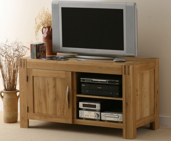 Alto Solid Oak TV Cabinet