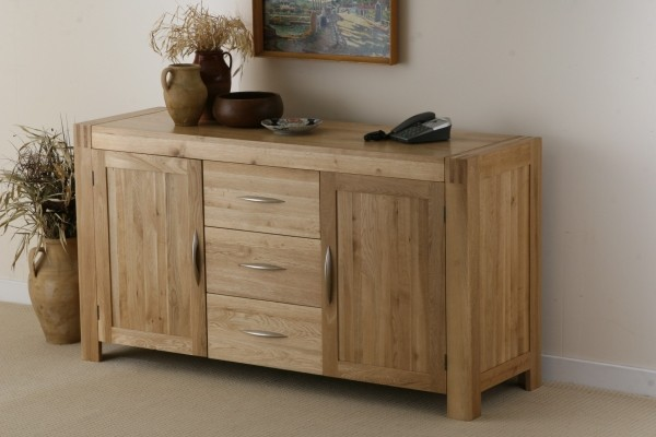 Alto Solid Oak Large Sideboard