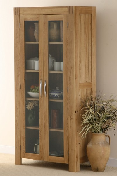 Alto Solid Oak Glazed Dresser