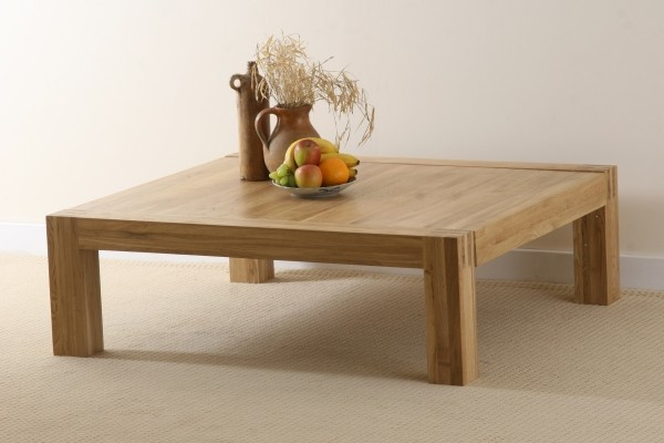 Alto Solid Oak Extra Large Coffee Table