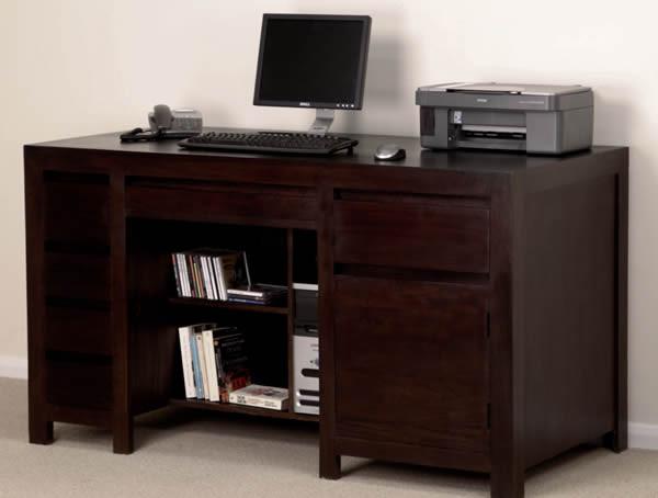 Pablo Dark Mango Computer Desk