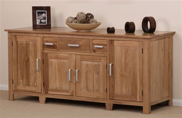 Rivendell Solid Oak Large Sideboard