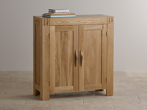 Alto Natural Solid Oak Media Storage Unit