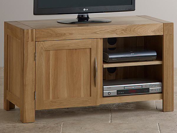 Alto Natural Solid Oak TV Cabinet