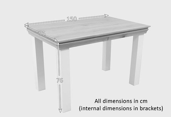 dining table 4 seater dimensions collections