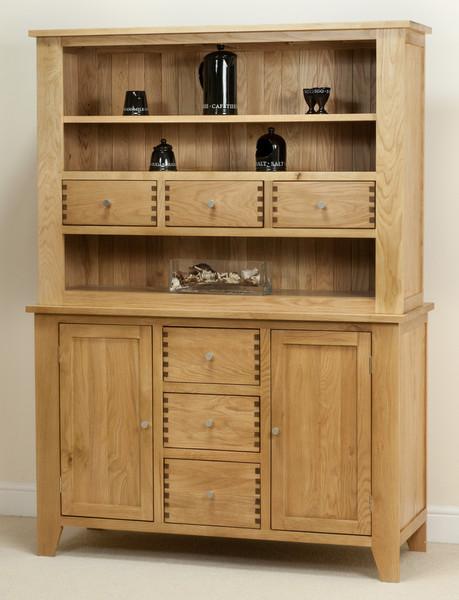 Dovedale Solid Oak Welsh Dresser