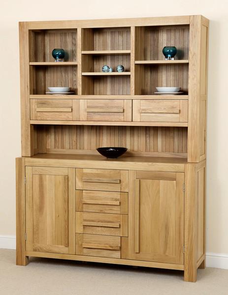 Fresco Solid Oak Welsh Dresser