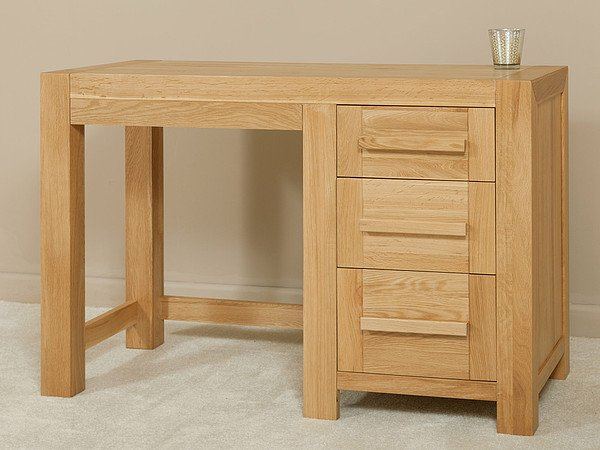 Fresco Natural Solid Oak Dressing Table