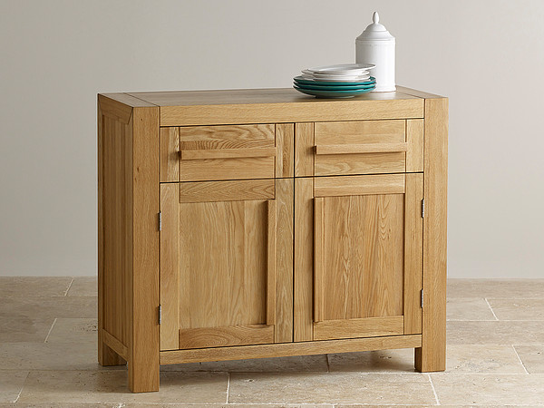 Fresco Natural Solid Oak Small Sideboard