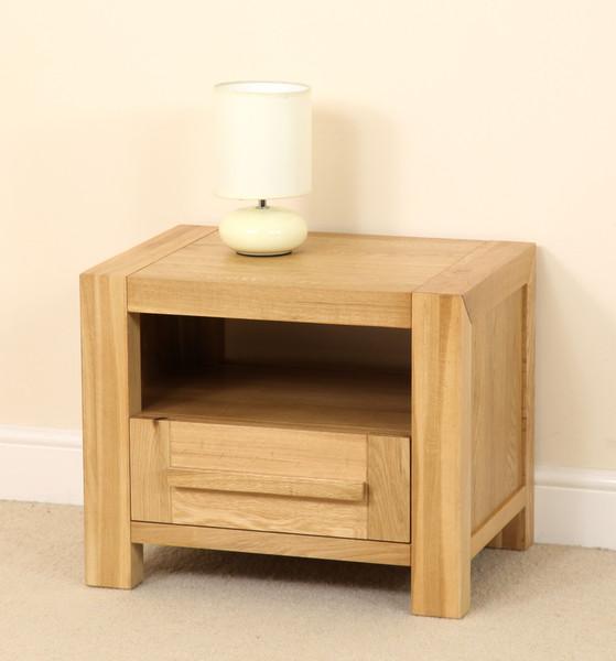 oak bedside cabinet 2