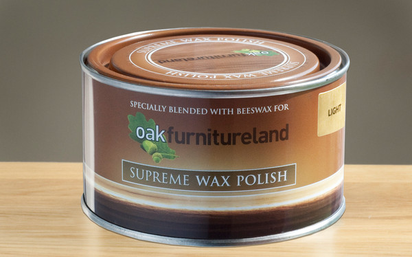 light furniture wax polish