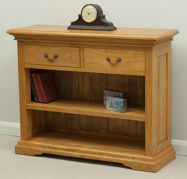 Louis Philippe Open Bookcase: Home Office Furniture