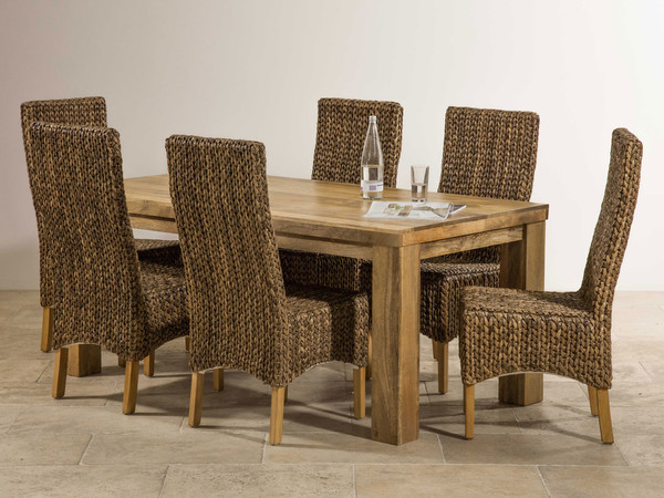 Mantis Light Solid Mango 6ft X 3ft Dining Table 6 Highback  : mantis light solid mango 6ft x 3ft dining table 6 highback grass chairs 5540c47772fab from www.go-furniture.co.uk size 600 x 450 jpeg 91kB