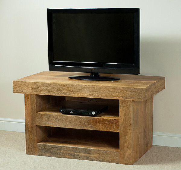 Mantis Light Natural Solid Mango TV Cabinet