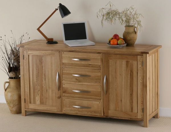 Newark Solid Oak Large Sideboard