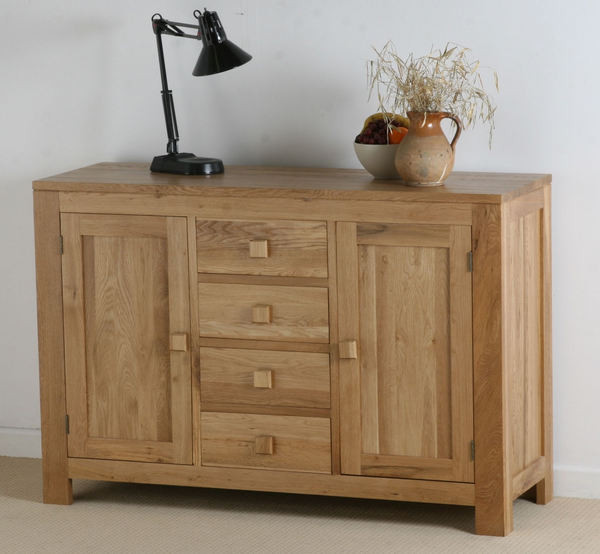 Oakdale Solid Oak Large Sideboard