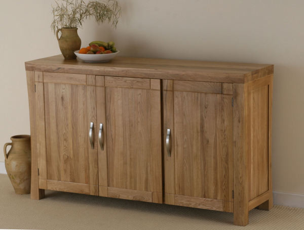 Andorra Solid Oak Large Sideboard