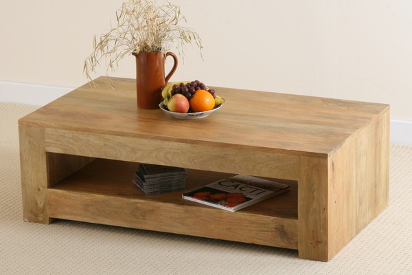 Mantis Light Solid Mango Coffee Table