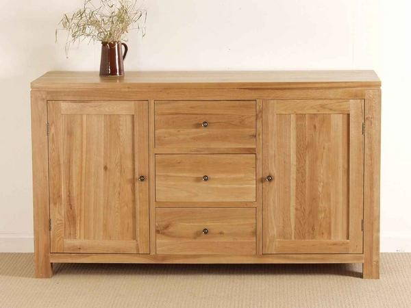 Dakar Solid Oak 5 ft Sideboard