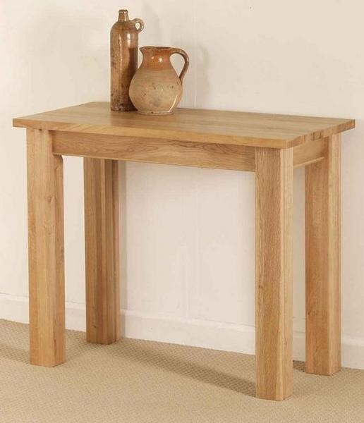 Dakar Solid oak Console / Hall Table