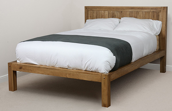 Quercus Rustic Solid Oak 4ft 6″ Double Bed