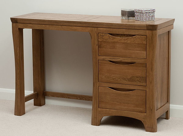 Orrick Rustic Solid Oak Dressing Table