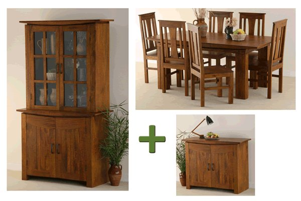 Tokyo Teak Dining Room Set