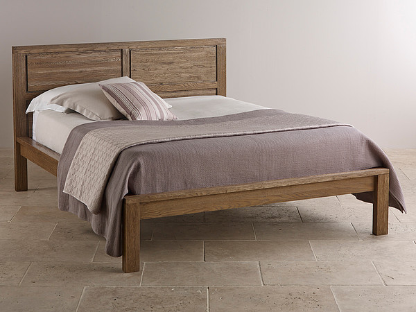 Windsor Brushed Solid Oak 5ft King-Size Bed