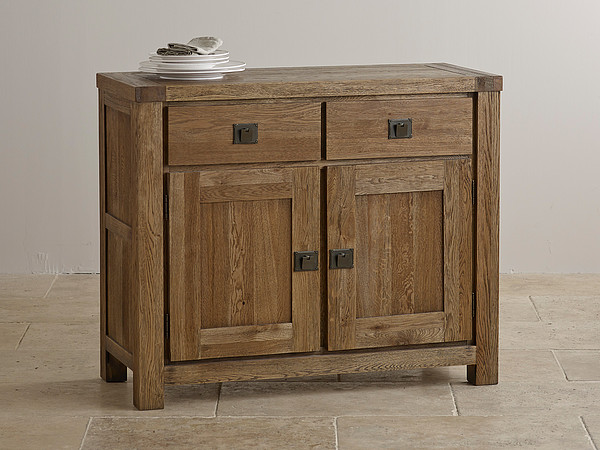 Windsor Brushed Solid Oak Small Sideboard