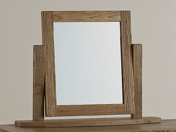 House Accessories Windsor Brushed Solid Oak Dressing Table Mirror