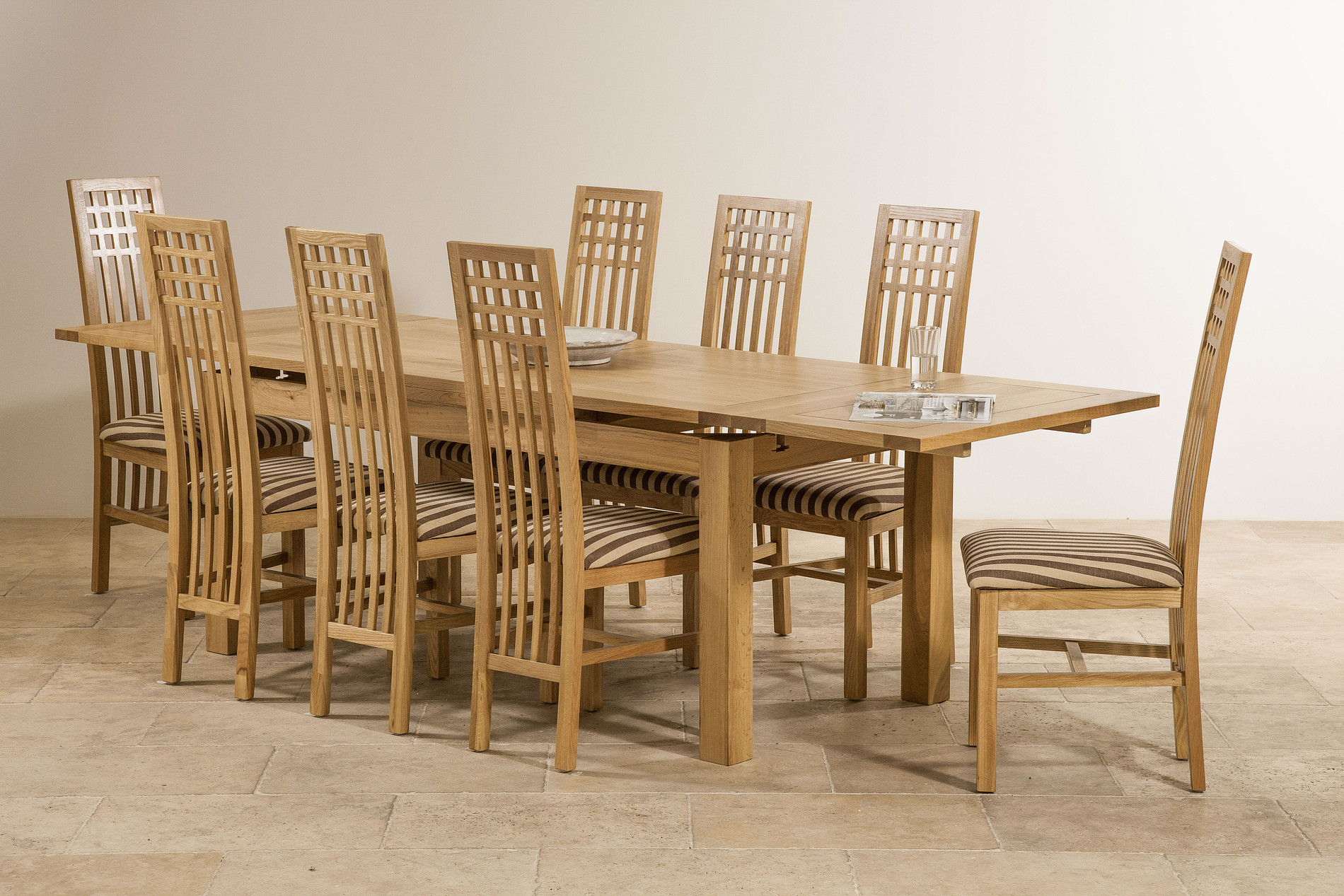 6ft x 3ft solid oak extending dining table seats up to 12 for 12 people dining table