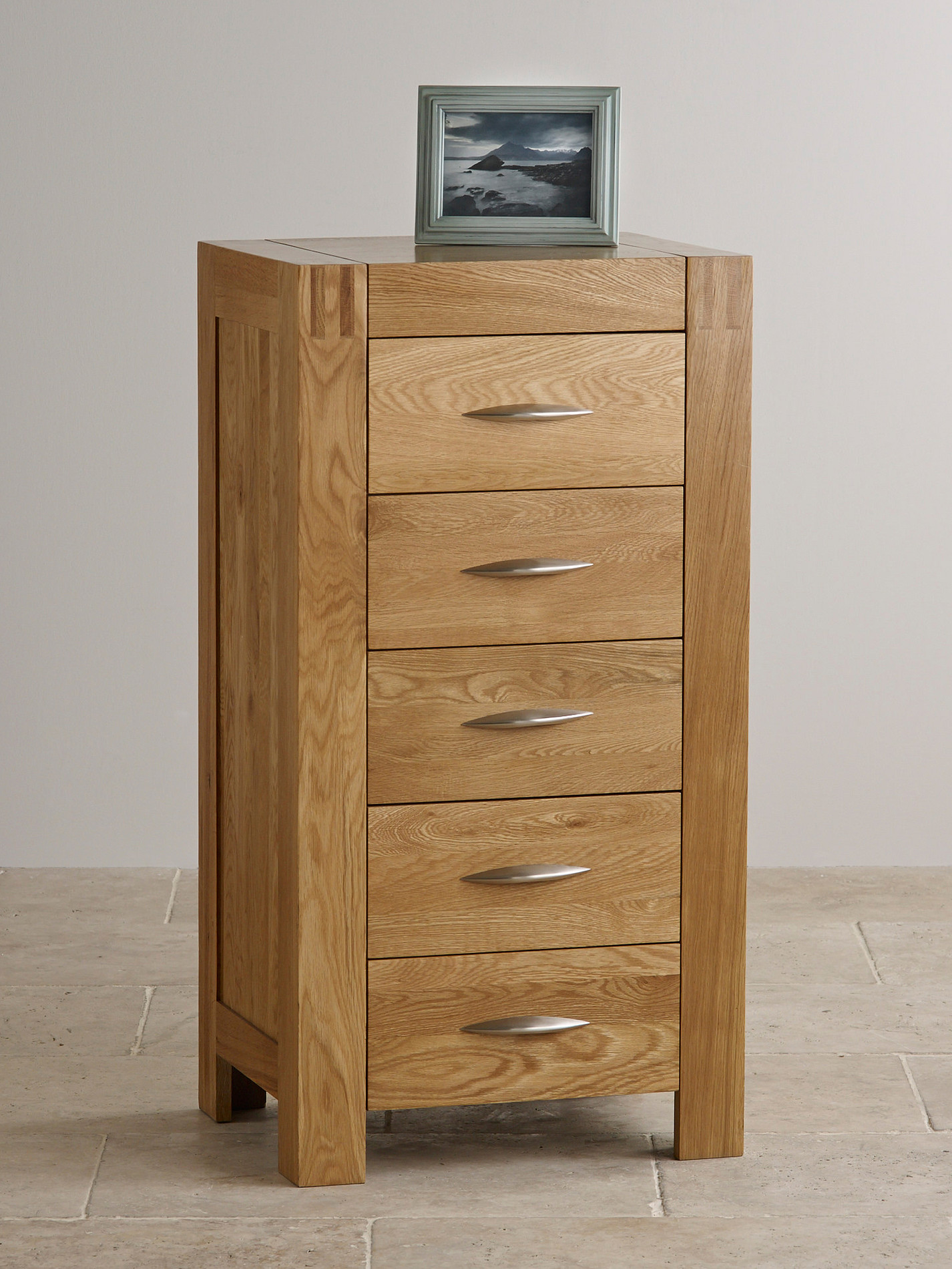#6C492A Alto Natural Solid Oak 5 Drawer Tall Chest Bedroom Furniture with 1426x1900 px of Most Effective Tall Dresser Drawers Bedroom Furniture 19001426 wallpaper @ avoidforclosure.info