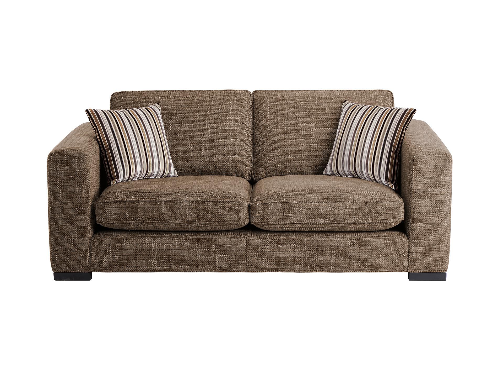Genoa Small Sofa In Casual Taupe