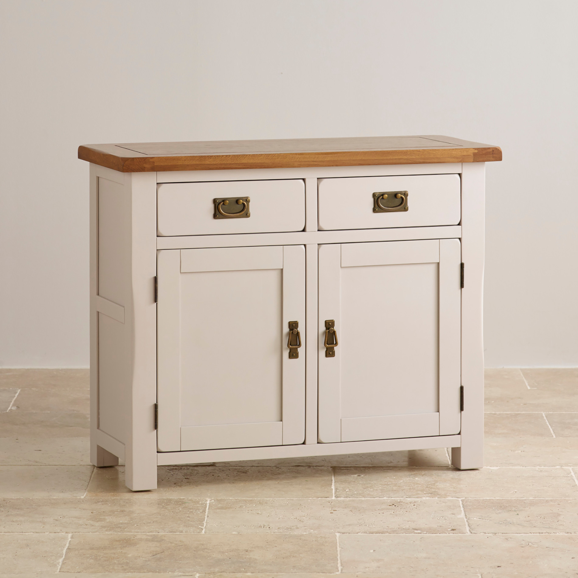 Small Kemble Solid Oak Sideboard