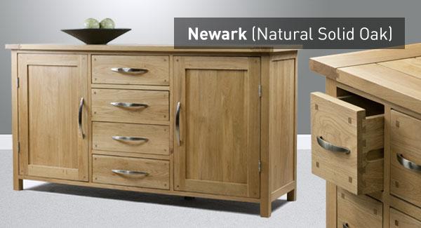 The Newark Range Natural Solid Oak Furniture