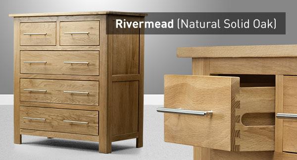 the rivermead range natural solid oak furniture