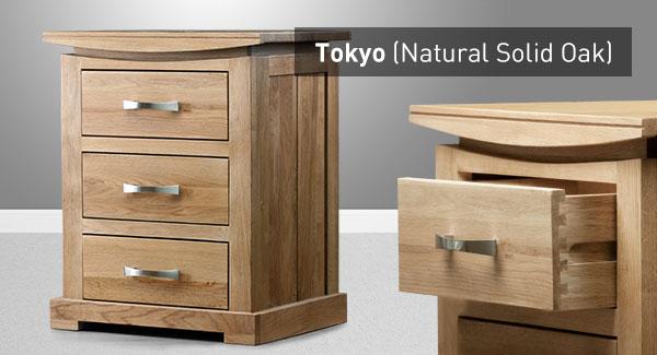 the tokyo range natural solid oak furniture
