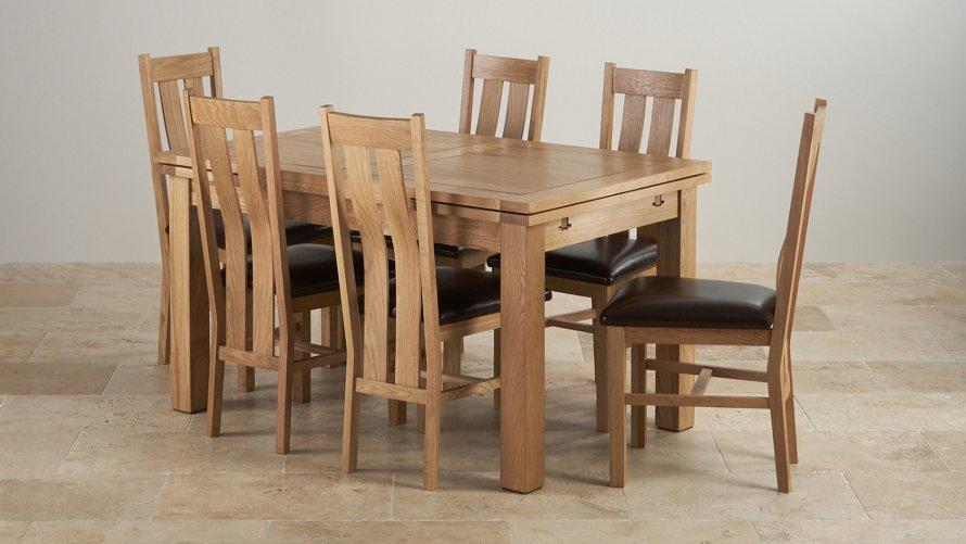 5ft Dining Table Sets Oak Furniture Land