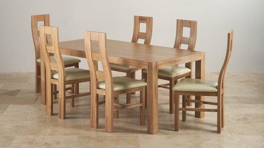 6ft dining table sets oak furniture land