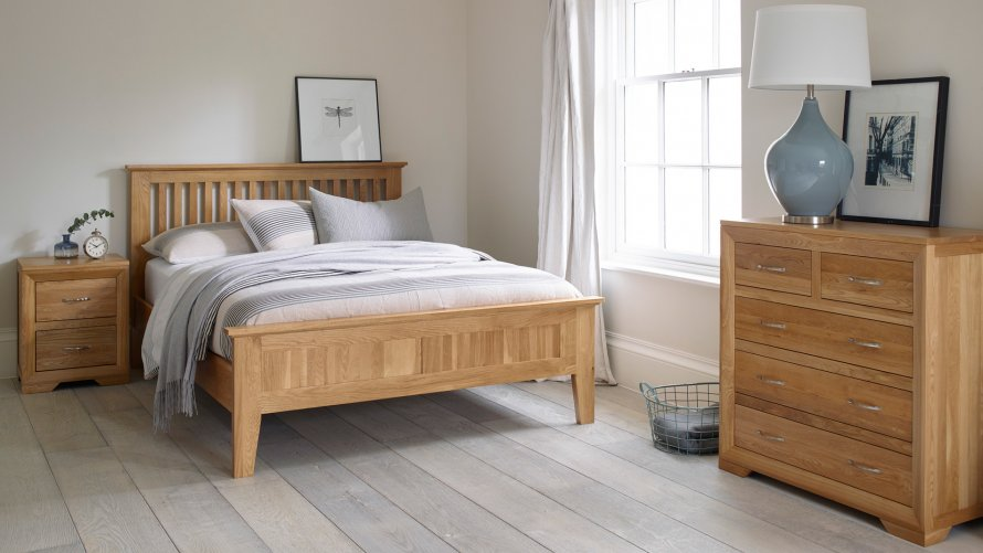 Bedroom Furniture Oak Furniture Land