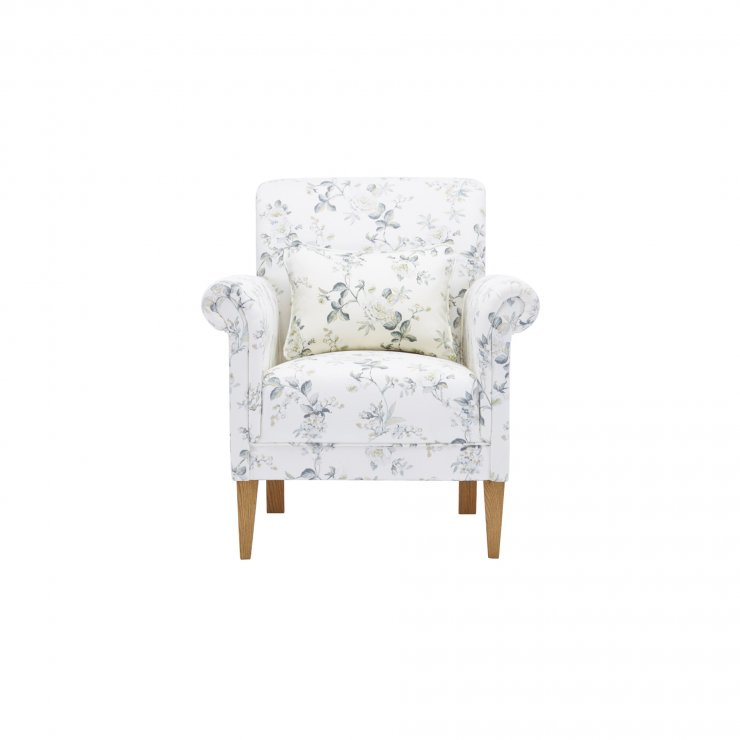 Amelia Accent Chair in Rippon Natural