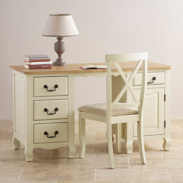 French Provincial Style Computer Desk