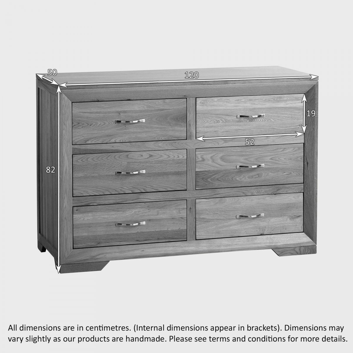 bevel  drawer chest in natural solid oak  oak furniture land -   drawer chest sorry your browser does not support this video