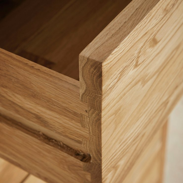 Cairo Computer Desk In Natural Solid Oak Oak Furniture Land
