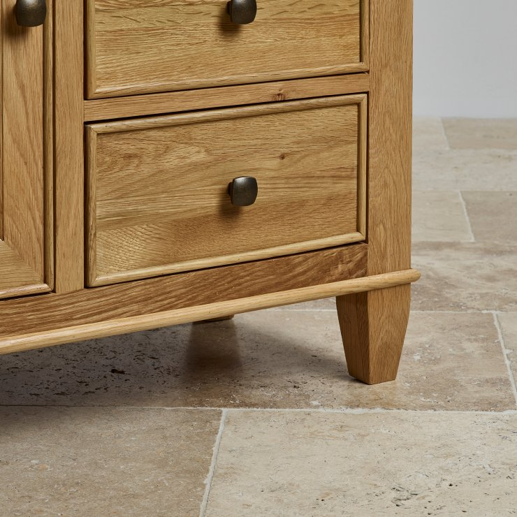Classic Natural Solid Oak Storage Cabinet