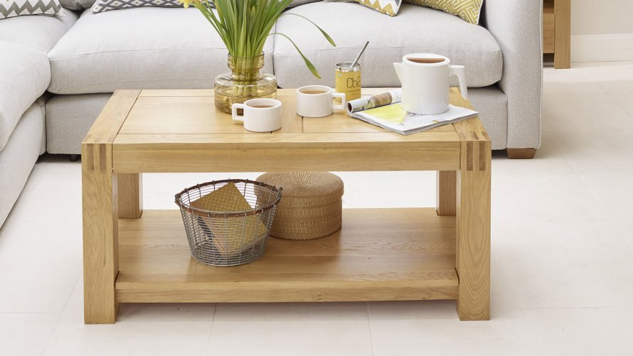 Coffee Tables without Drawers  Oak Furniture Land
