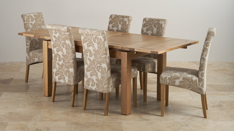 Extending Dining Sets Oak Furniture Land
