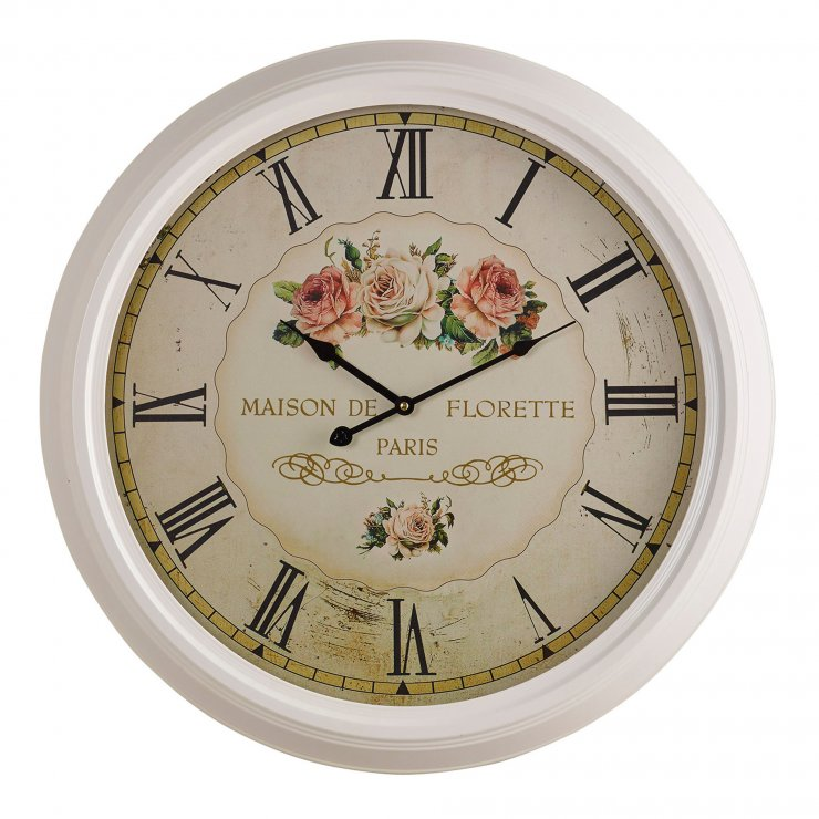 Florette Wall Clock
