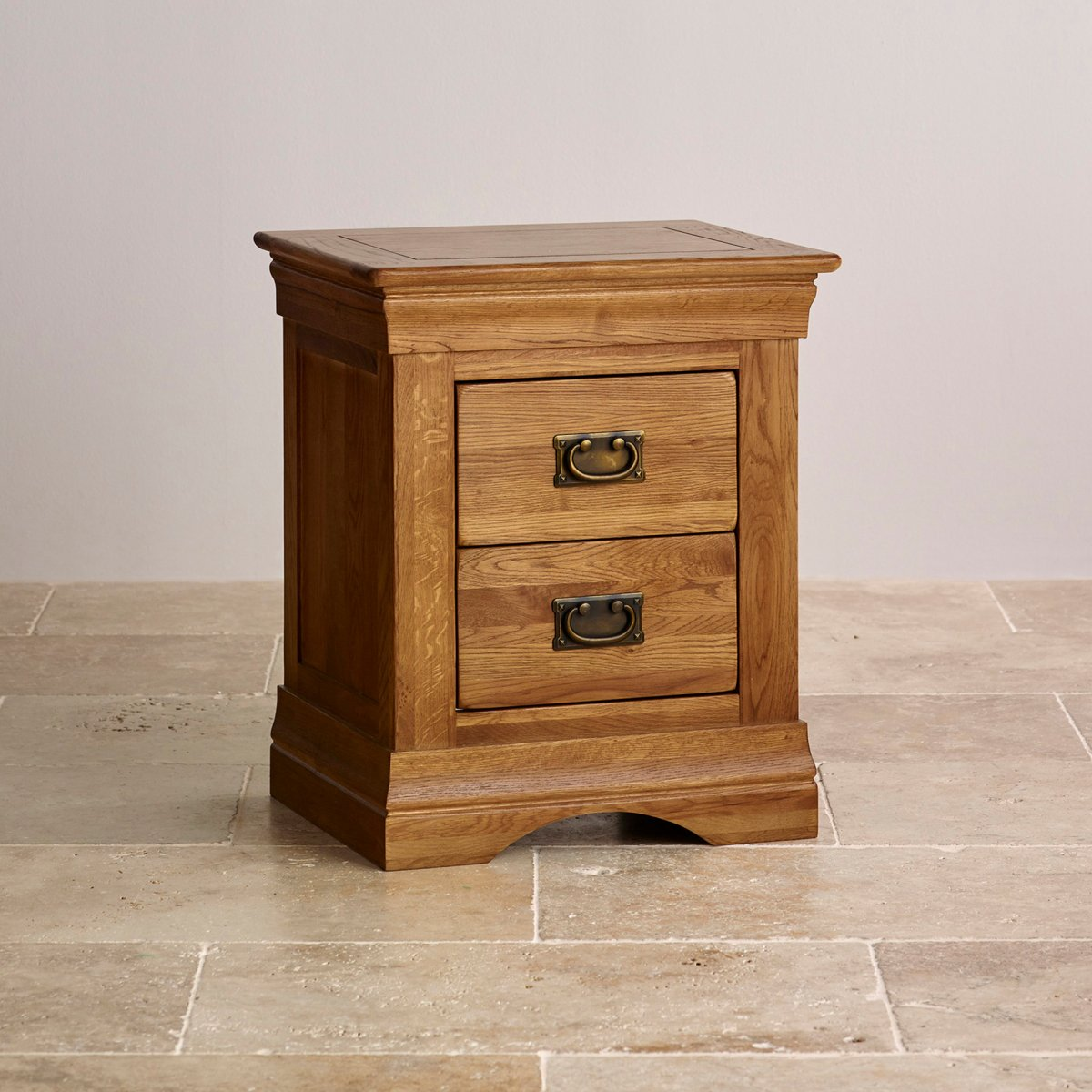 French Farmhouse Bedside Table